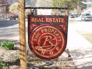 Property Shop Sign