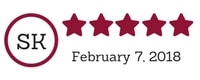 5 Star TPS Website Review - Marianne Ackerman, February 2018