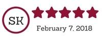 5 Star TPS Website Review - Marianne Ackerman, February 2018