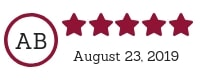 5 Star TPS Website Review - Amy Luetke, August 23 2019
