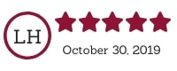 5 Star TPS Website Review - Janelle Lundin, Oct 30, 2019